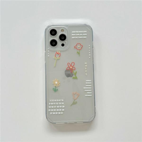 För iPhone 12 11 fodral skal For Apple iPhone 8 Plus,White