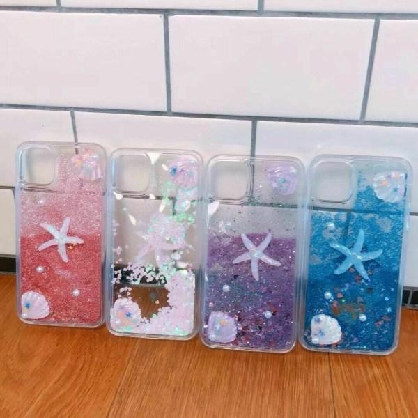 Glittertelefonfodral till iPhone 11 12 Pro Max 7 8 Plus Blue,For iPhone 7 Plus / 8 Plus
