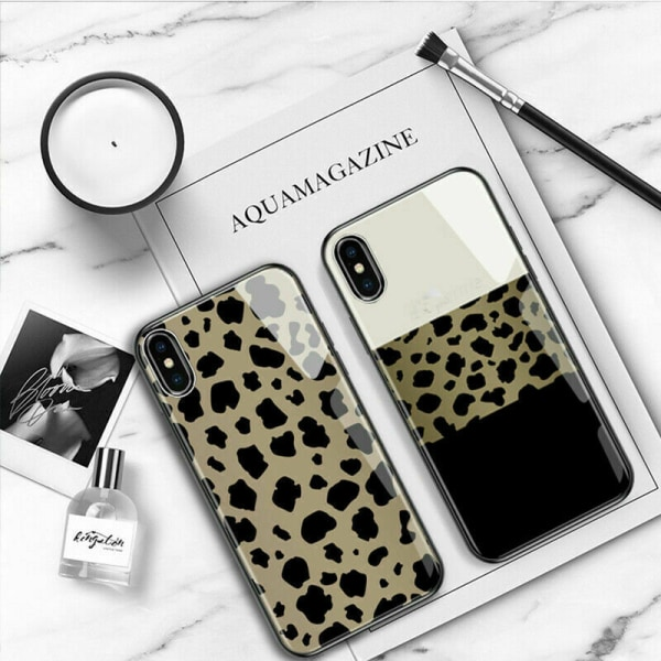 Mobilskal till iPhone 12 11 Pro Max XR 8 Plus Leopard Leopard,For iPhone 12 Mini 5.4