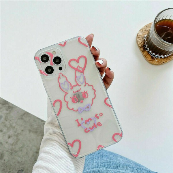 Skal till iPhone 12 Pro 11 Pro Max XR X 8 7 TPU White,For iPhone 12 Mini 5.4