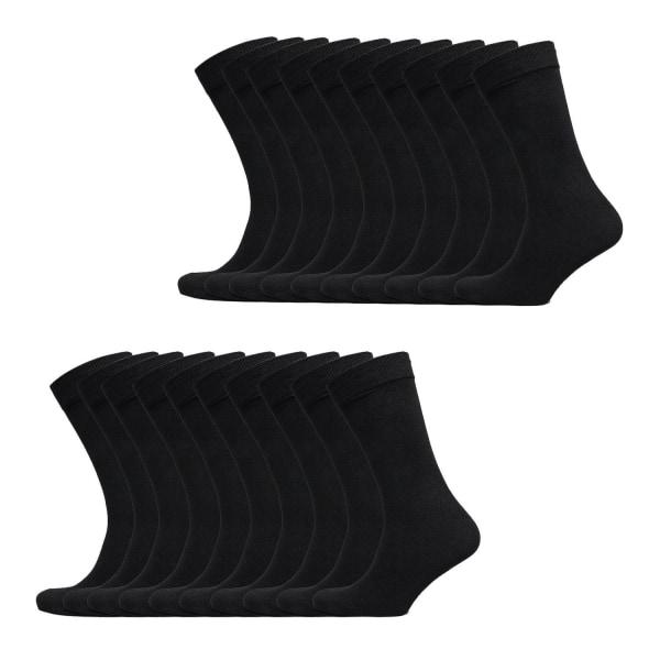 Basic Strumpor - 20 Pack Black 39/42 / SORT / 20 PACK