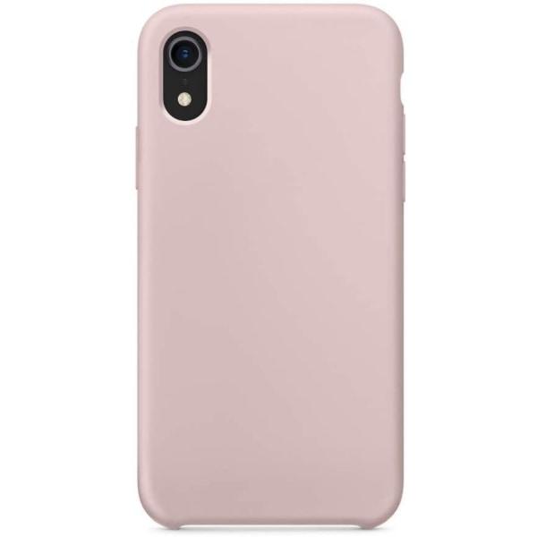 Silikonskal till iPhone XR - Sand Pink Rosa
