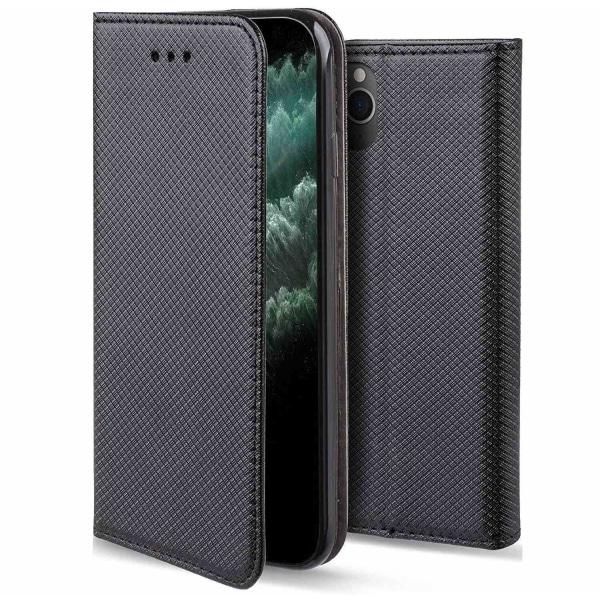 Xiaomi Redmi 9 Flip Fodral Plånboksfodral Svart Svart