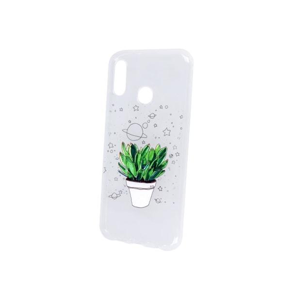 uSync™ Samsung Galaxy S10 - Design Skal - Plant Transparent