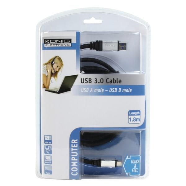 König USB 3.0-kabel USB A-B