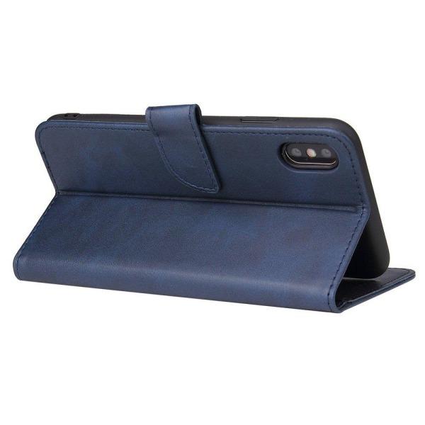 iPhone XR Plånboksfodral Blå