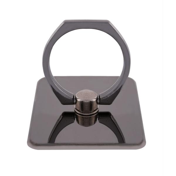 2-Pack iRing Ringhållare mobilhållare - Svart Svart