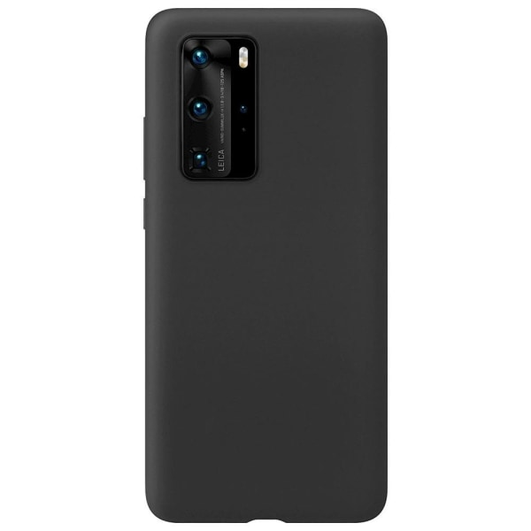Huawei P40 Pro Silikonskal - Ultra Slim Skal Svart
