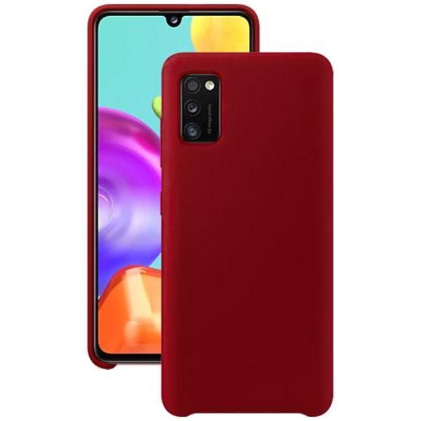 Samsung Galaxy A41 Silicone Case - Röd Silikonskal Röd