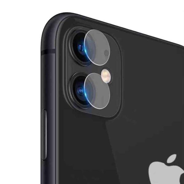 iPhone 11 Linsskydd Härdat glas för Kamera Transparent