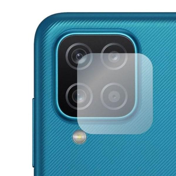 Linsskydd i härdat glas för Samsung Galaxy A12 Transparent