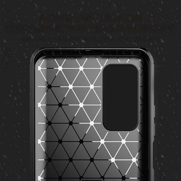 Xiaomi Mi 10T Pro/10T Skal - Anti-Impact Carbon - Svart Svart