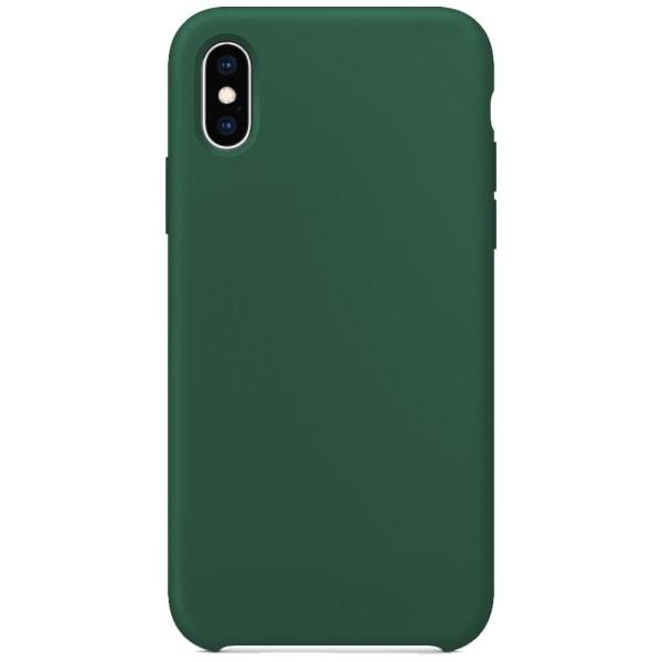 Silikonskal till iPhone XR - Army Green Grön