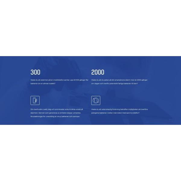 3MK Antimikrobiellt Skärmskydd till Xiaomi Mi Note 10 Transparent