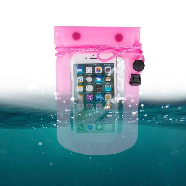 """Vattentät Mobilväska - iPhone & Android 5,5"""" Rosa/TR Rosa"""