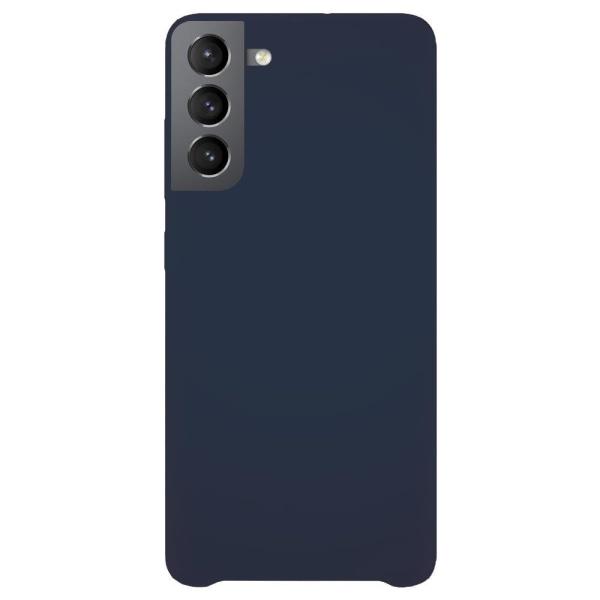Samsung Galaxy S21 Plus Silicone Case Blue Silikonskal Blå