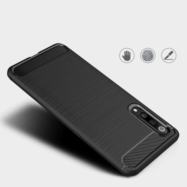 Xiaomi Mi 10/10 Pro Exklusivt Stöttåligt Skal Svart