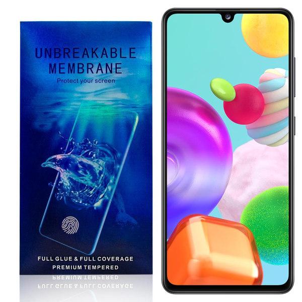 Samsung Galaxy A41 Skärmskydd - Heltäckande Transparent