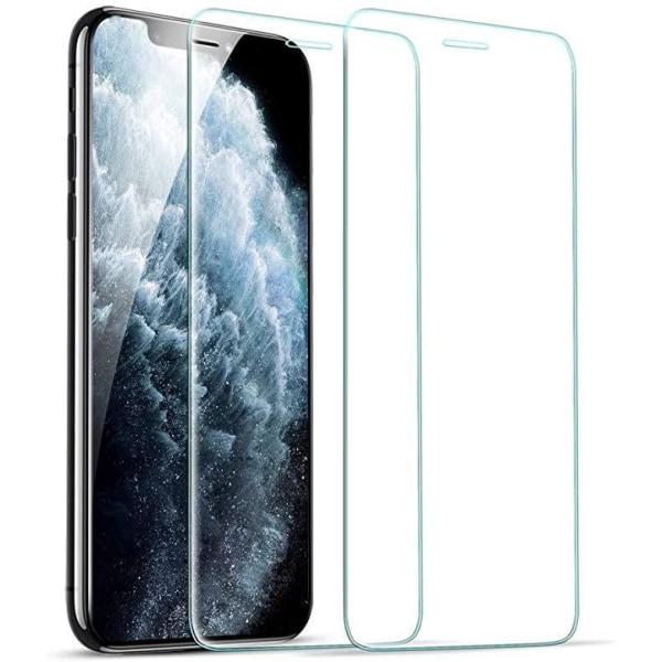 "[2-Pack] iPhone 12 Mini Skärmskydd - Härdat Glas (5.4"") Transparent"