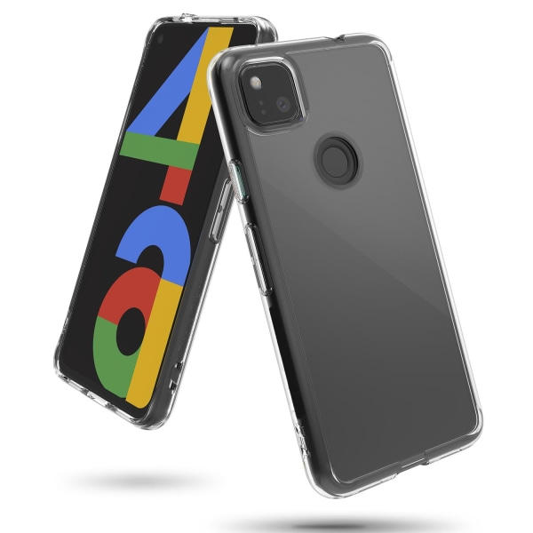 Google Pixel 4A 5G Skal Ultra-Slim Transparent TPU Transparent