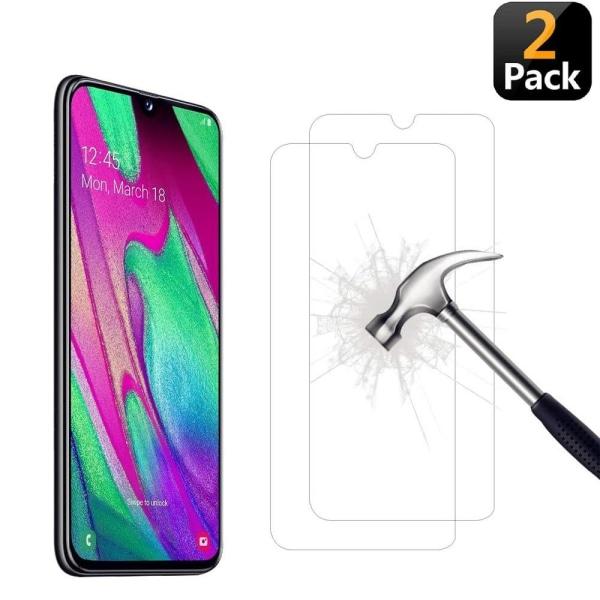 [2-Pack] Skärmskydd Samsung Galaxy A40 Transparent