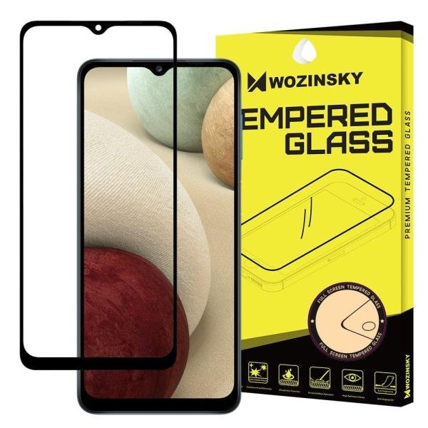 Samsung Galaxy A12 Skärmskydd Heltäckande Transparent