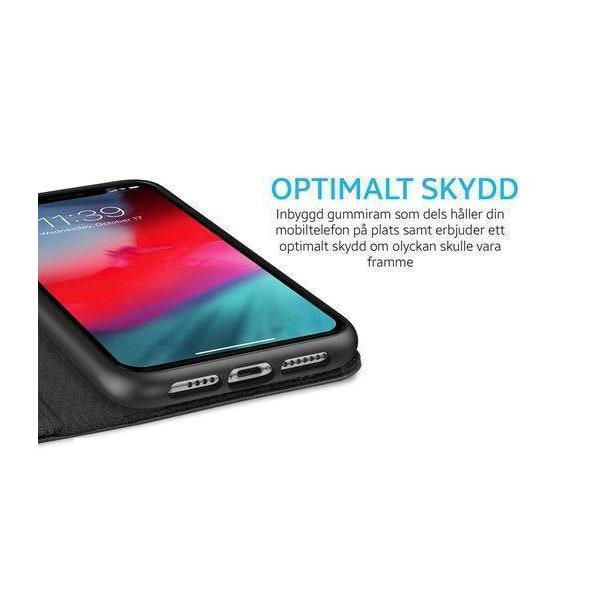 Samsung Galaxy Note 20 Plånboksfodral Fodral - Plants Svart
