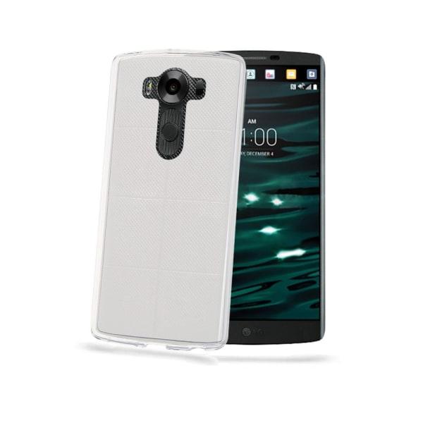 CELLY WALLET CASE LG V10 SV/BE Transparent