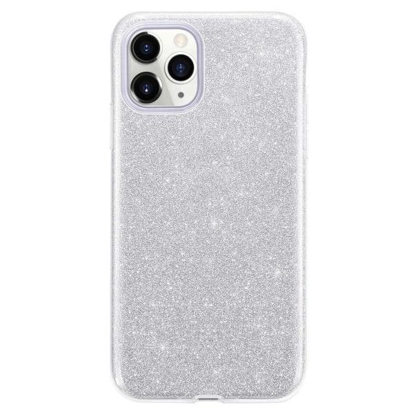 Glitter Skal för iPhone 11 - Silver Silver