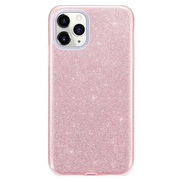 Glitter Skal för iPhone 12 Mini - Roséguld