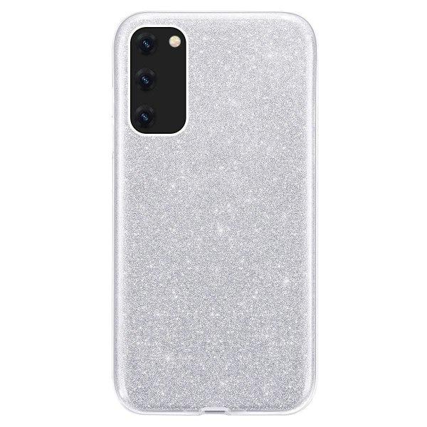 Glitter Skal för Samsung Galaxy A20E - Silver Silver