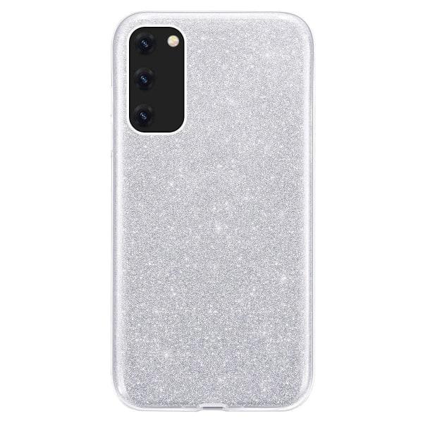 Glitter Skal för Samsung Galaxy A51 - Silver Silver
