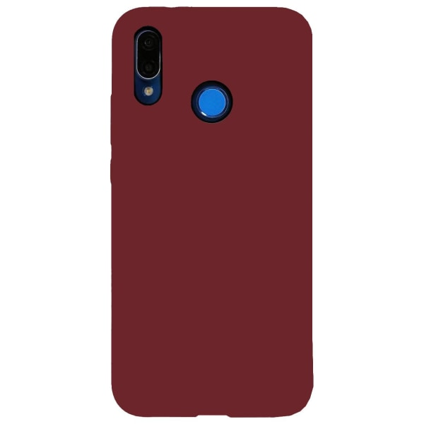 Huawei P20 Lite Silikonskal - Ultra Slim Skal - Burgundy Röd