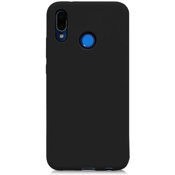 Huawei P20 Lite Silikonskal - Ultra Slim Skal Svart