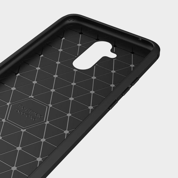 Huawei P20 Lite Skal Carbon Series - Black Svart
