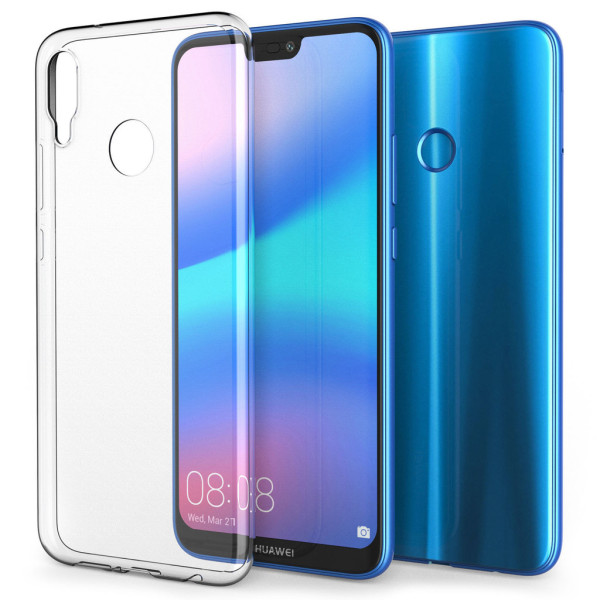 Huawei P20 Lite Skal Ultra-Slim Transparent TPU Transparent