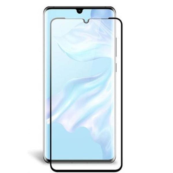 Huawei P30 Pro Härdat glas - Heltäckande Curved Skärmskydd Transparent