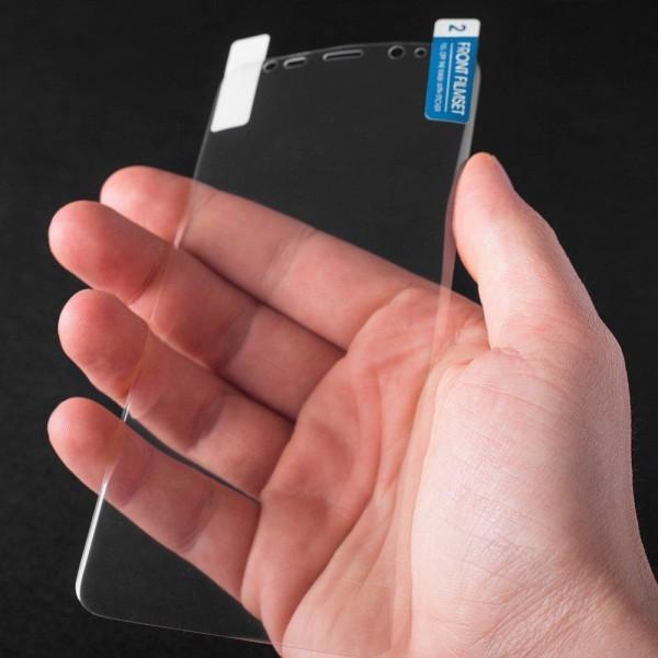 Huawei P30 Pro Heltäckande Skärmskydd böjda kanter - PET Transparent