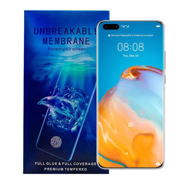 Huawei P40 Pro Skärmskydd - Oförstörbar Membran Transparent