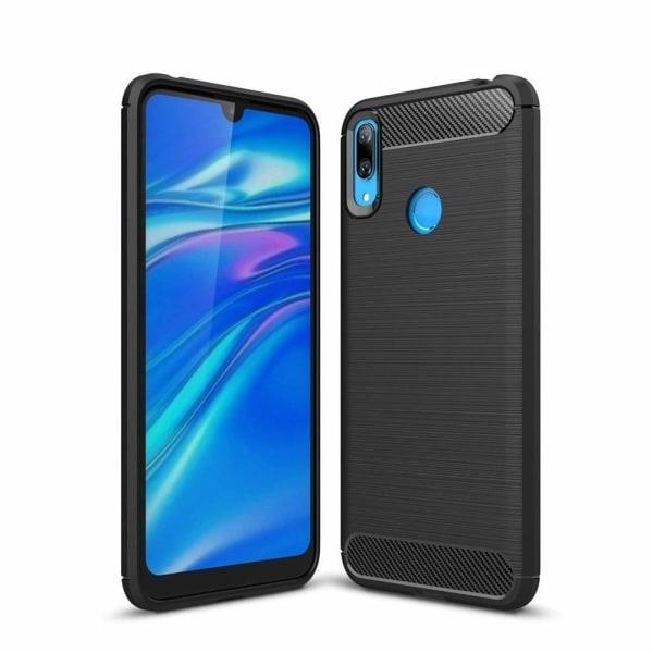 Huawei Y6 2019 Skal - Carbon Series, Svart Blå
