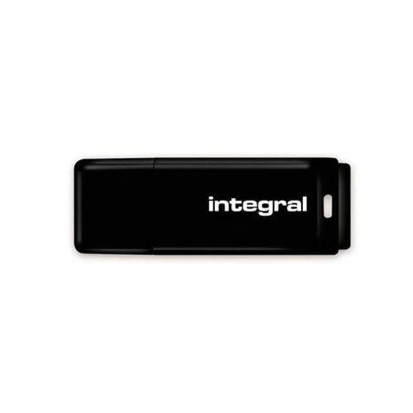 Integral® USB-minne 128GB USB 2.0 Svart