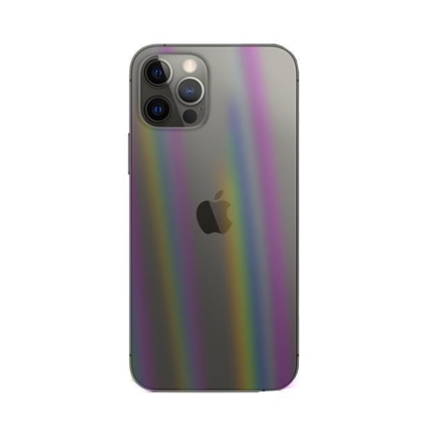 iPhone 12 Mini Baksida Skyddsfilm - Aurora Transparent