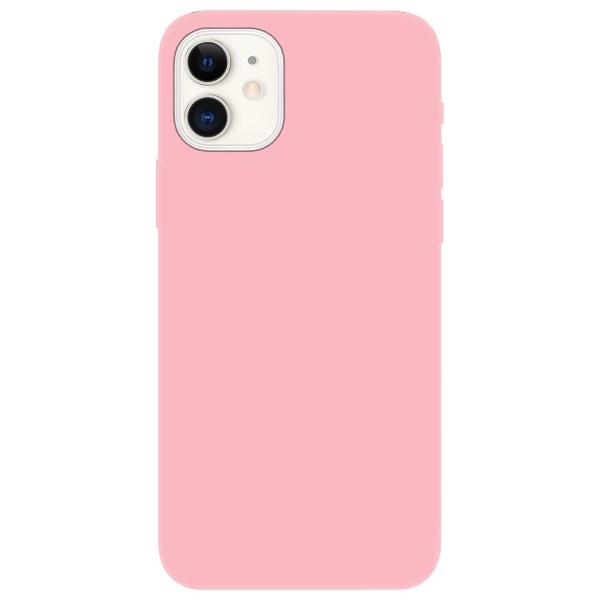 iPhone 12 Mini Skal Silicone Slim Case Soft Rosa