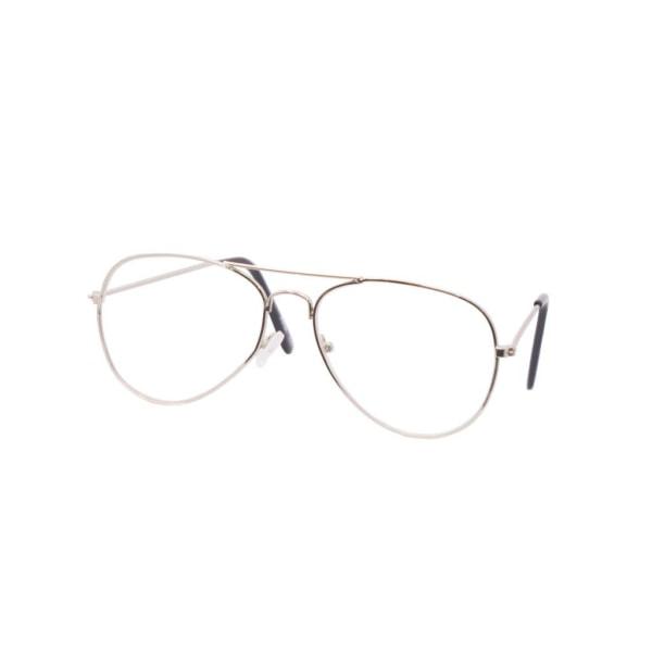 Läsglasögon Pilot +2.5 Styrka Silver Silver