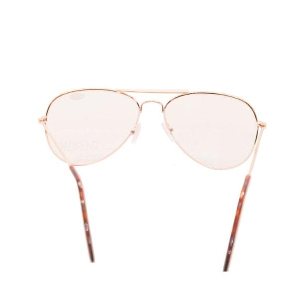 Läsglasögon Pilot +3.0 Styrka Guld Guld