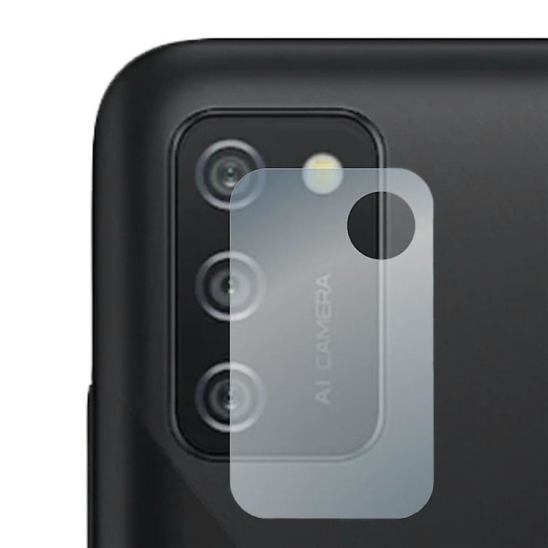 Linsskydd i härdat glas för Samsung Galaxy A02S Transparent