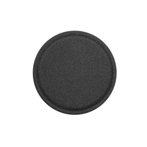 Metallplatta mobil - Svart (Läder) 40mm Svart
