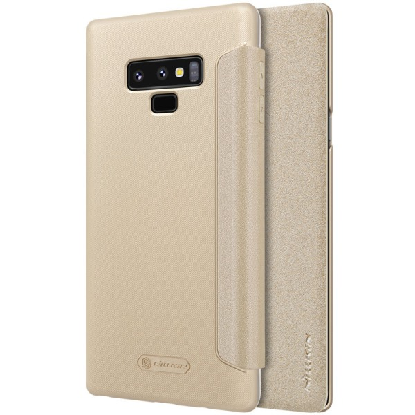 Nillkin Sparkle Flip Case Samsung Note 9 - Guld Guld