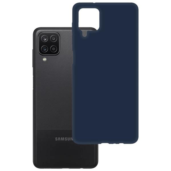 Samsung Galaxy A12 Skal (SM-A125F) - Blå Silikonskal Blå
