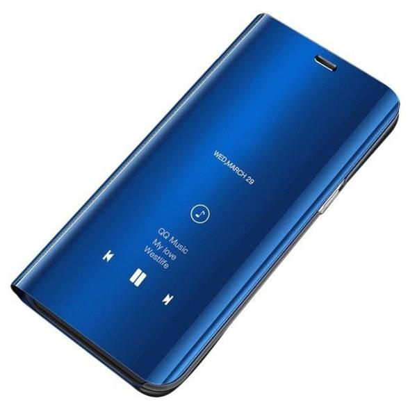 Samsung Galaxy A12 Smart View Cover Fodral - Blå Blå